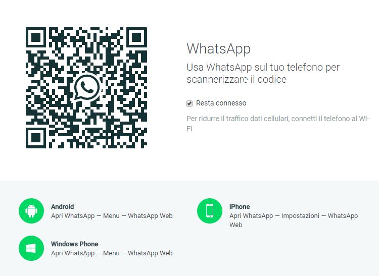 come utilizzare whatsapp da pc